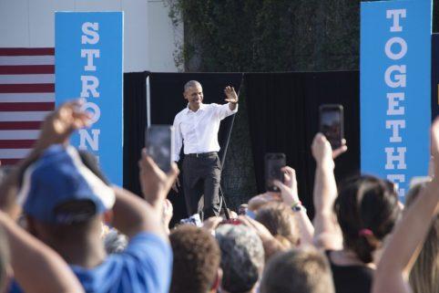 Obama Visits UNC